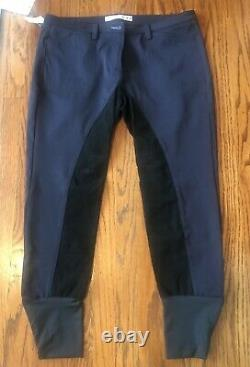 Animo Nectar Full Seat Breeches Navy Blue NWT Womens Size 46 MSRP $299