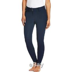 Ariat Tri Factor Grip Full Seat Womens Pants Riding Breeches Navy All Sizes