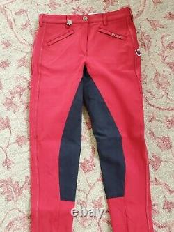 Beautiful new Pikeur Calista full. Seat breeches with silver stitch