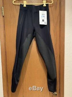 Black FITS A600 Full Seat Breeches Size Medium PerforMax With Segmented Deerskin