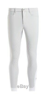 Cavalleria Toscana mens full seat breeches in white size 48 RRP £240