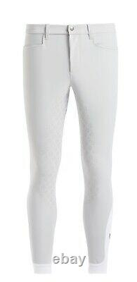 Cavalleria Toscana mens full seat breeches in white size 50 RRP £240