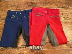 Cavallo Candy full seat breeches 26L lot of 2 pre-owned VG cond