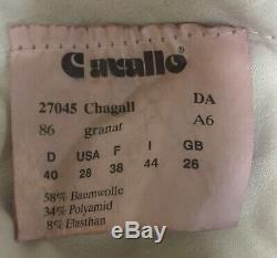Cavallo Chagall Full Seat Breeches Burgundy size 28R Used twice retail $299