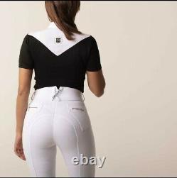 Chillout Full Seat Silicone Breeches White