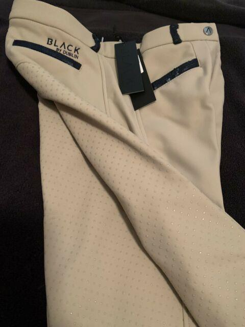 Dublin Winter Thermal Womens Full Seat Breeches New With Tags Size 28 Small