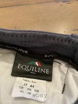 Equiline Full Seat G-Zone Breeches-Size 44-Gray-Pre-Owned