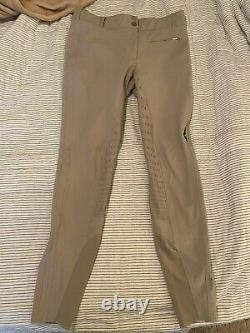 Equiline Silicone Full Seat Breeches IT 48, US 30R, NWOT