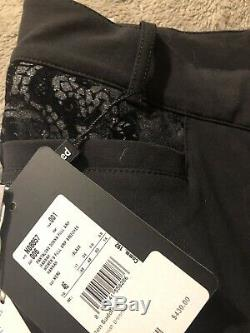 Equiline hannah Black Full Seat Silicone Breeches I-46 NWT