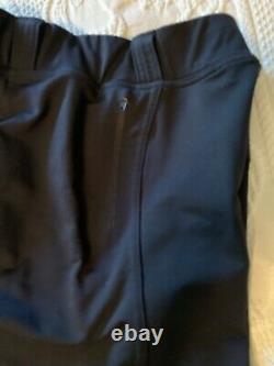 FITS Breeches Performax full seat deerskin Large Excellent condition Black