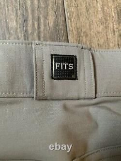 FITS Free Flex Full Seat Breech with Zip Front-L-Clay
