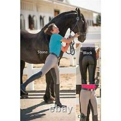 FITS Free Flex Zip Front Breeches Ladies, Full Seat-Large-Clay