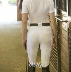 FITS PerforMAX Zip Front Full Seat Breech-White-M