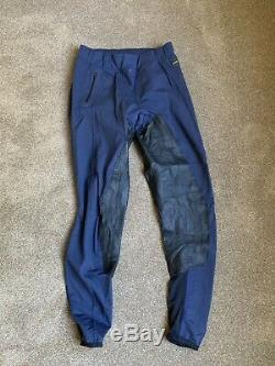 FITS Performax Full seat Breeches Pre-0wned Size L Blue FREE US SHIP