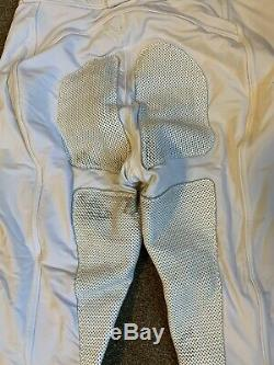 FITS Performax Full seat Breeches Pre-0wned Size L White FREE US SHIP