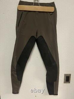 FITS Riding PerforMAX Full Seat Breeches Deerskin Leather Breeches Small EUC