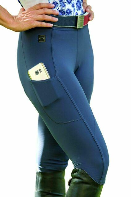 Fits Techtread Full Seat Pull On Riding Breeches All Season Lite Fabric