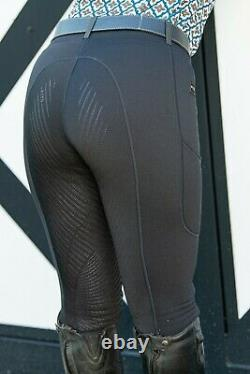 FITS ThermaMAX TechTread Winter Full Seat Riding Breeches sz XL Black NWT