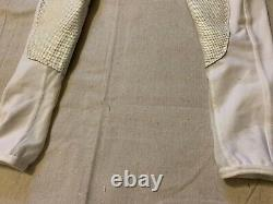 FITS White Full Seat Breeches Size X-Small