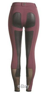 FITS Women's PerforMAX Full Seat Leather Breech withZip Front Slash Pockets