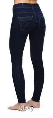 Goode Rider Ladies Equestrian Jean Full-Seat Breech Faux Leather Size 30R