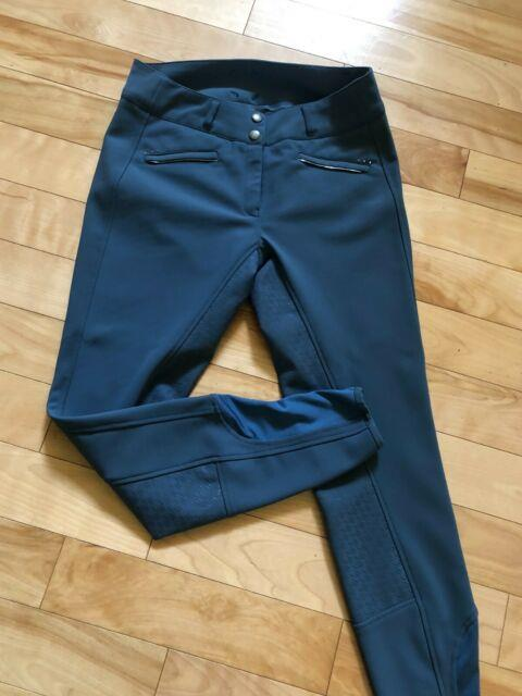 Goode Rider Miracle Breech Full Seat Size 28r Slate Blue