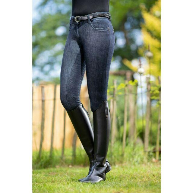 Hkm Riding Breeches -miss Blink Easy- Silicone Full Seat 11121