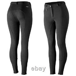 HORZE Active Women's Horse Riding Full Seat Breeches Silicone Grip Horse Pants
