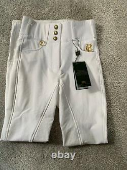Holland & Cooper White Full Seat Breeches Size 6