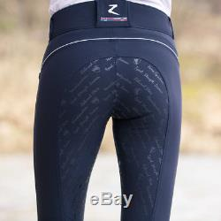 Horze Nordic Performance Women's Silicone Full Seat Riding Breeches Repels Water