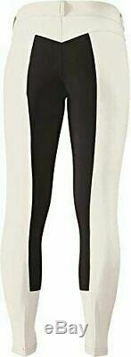 Kerrits Sit Tight Suede Fullseat Breeches With Gripstretch Suede White X-Large