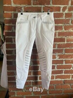 Ladies Animo Limited Edition Breeches NWTsize 42 Italy = 8 Usa Full Seat
