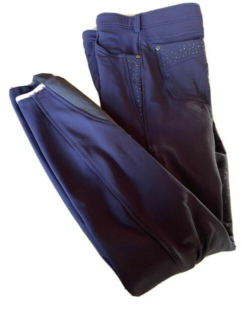Lot Of Cavallo Full Seat Breeches Clio Grip 2 Red And 2 Blue 28l
