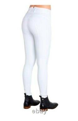 Montar ESS High waist full silicone seat Breeches Navy or White