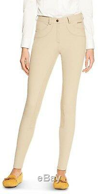 NEW Ariat Womens Olympia Regular Rise Front Zip Full Seat Breech Calf Fit System