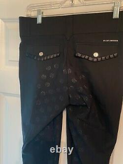 NEW! Black Full Seat Breeches. Size 26 or 28 US. SUPER CUTE