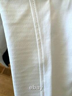 NEW With TAGS Equiline Women's Premium Sophie White Breeches with Swarovski Size 46