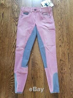 NWT Pikeur Darjeen Full Seat Grip Breeches US 26 Fabulous Spring Color