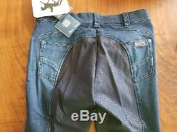 NWT Pikeur Fayenne Jeans Style Grip Full seat Breeches US 26