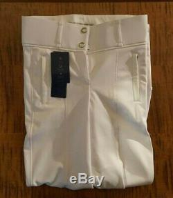 PS of Sweden, Full Seat Breeches, Robyn, White, European Size 34, USA Size 4