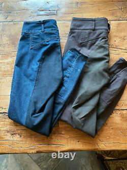 Pikeur Candela full seat breeches 30L lot of 2 pre-owned VG condition
