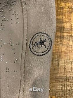 Pikeur Full Seat Breeches Taupe EU 80 US 28 Long. Bling