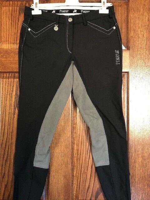 Pikeur Full Seat Ladies Breeches Piana Contrast Size 30 Us