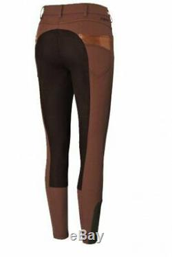 Pikeur Ladies Naila full seat breeches D38 US26 GB24 Gorgeous Lots of strass