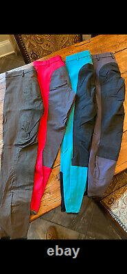 Pikeur Lucinda full seat breeches 28L lot of 4 pre-owned v good c