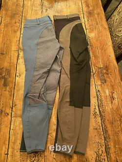Pikeur Nanette full seat breeches & Glinda FS 28L lot of 2 pre-owned VG cond