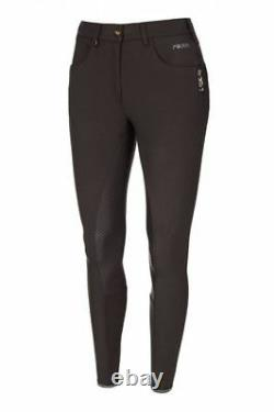 Pikeur Tayla Grip Full Seat Breeches in Brown