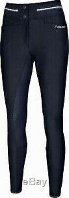 Pikeur full seat breeches size 26 navy full seat Calanja new. Sporty functional