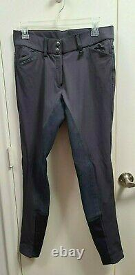Romfh Sarafina Full Seat Breeches Pewter 28L Perfect Condition