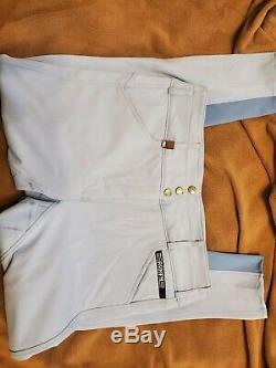 Romph Isabella Full Seat Breeches Periwinkle 32R